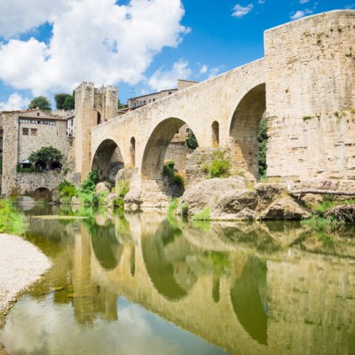 Besalu Spain Reflections
