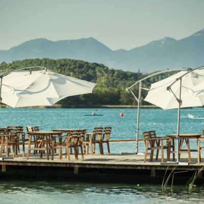 Lake Banyoles Summertime Bar