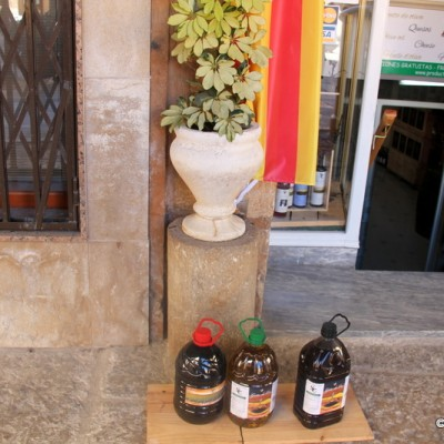 Sant Mateu Olive Oil Outside Shop