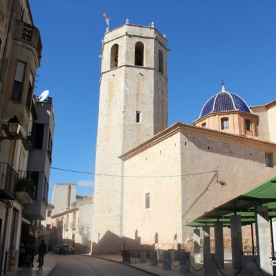 Sant Mateu Spain Church Views