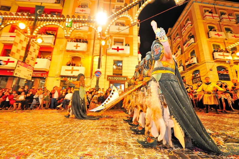 Alcoy Spain Festival Moors and Christians