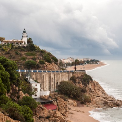 lighthouse Calella in Barcelona