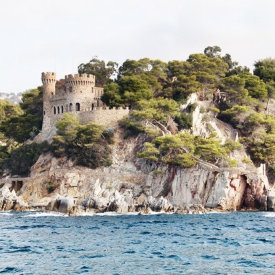 Lloret de Mar Castle Costa Brava Spain