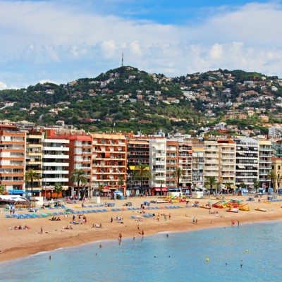 Lloret de Mar Clusters of Buildings by Beach ed2