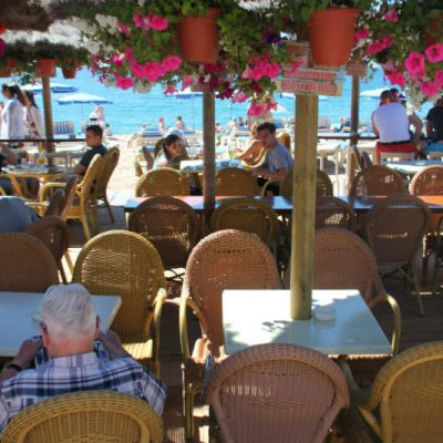 Lloret de Mar beach bar