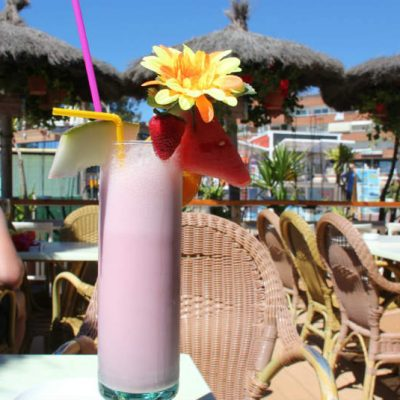 Lloret de Mar drink by beach