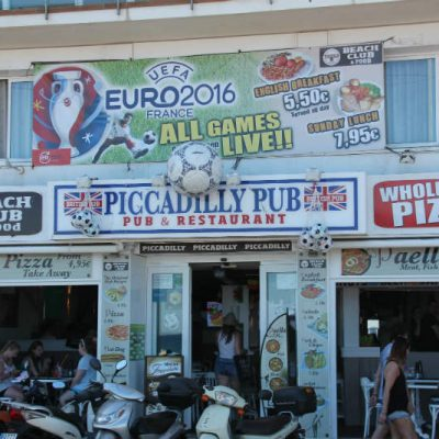 Lloret de Mar typical bar