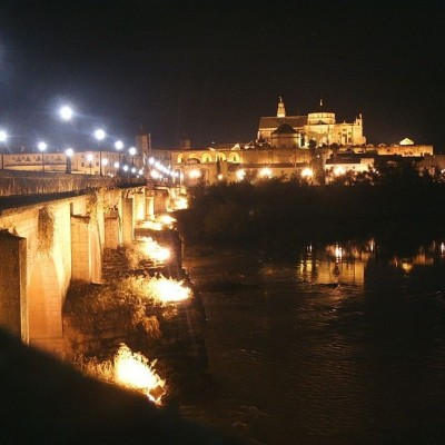 Cordoba Mezquita by Night