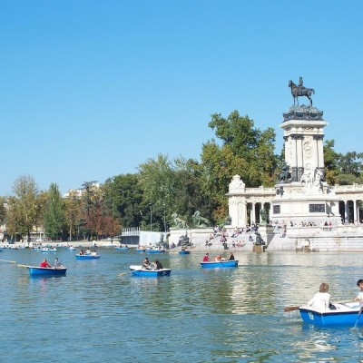Madrid Beautiful Cities Spain Park Retiro
