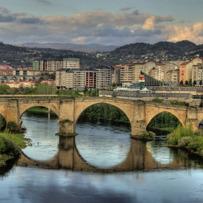 Ourense Roman Bridge Spain