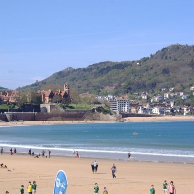 San Sebastian Spain beautiful cities Concha Bay