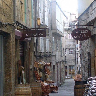 Vigo Spain shopping streets