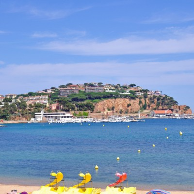 Sant Feliu de Guixols Beach And Views