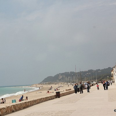 Altafulla beach and promenade (2)