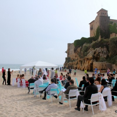Tamarit Castle Wedding