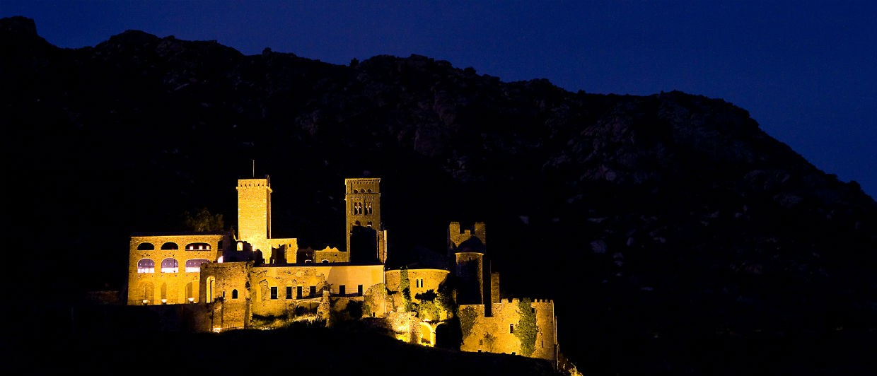 DO Emporda Wine Tasting Selva Night Views Sant Pere de Rodes