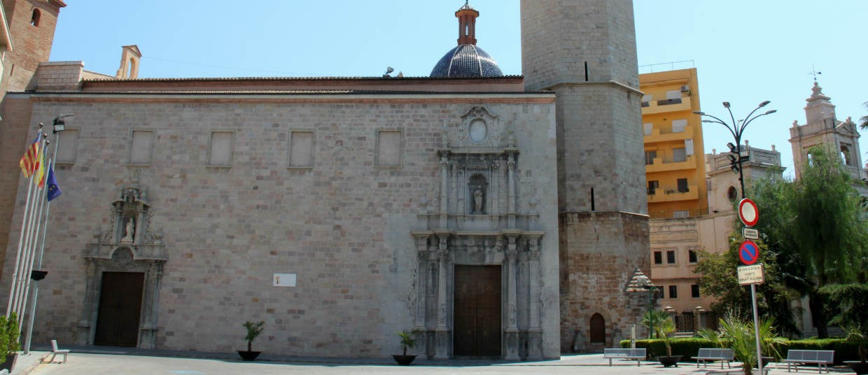 Burriana Castellon Spain church-1