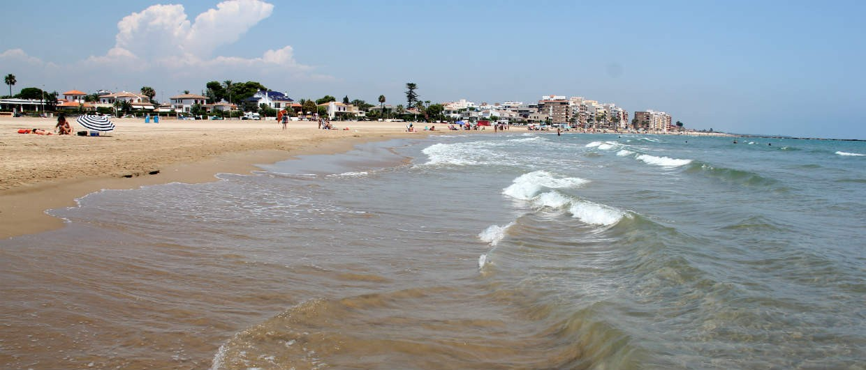 Burriana beaches Spain