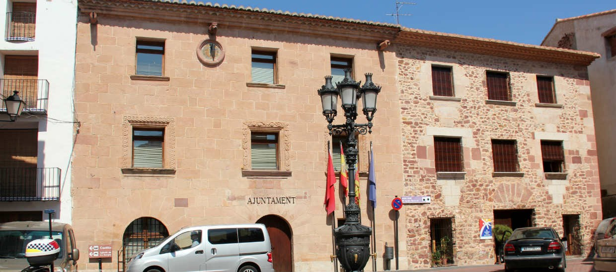 Vilafames Town Hall Spain