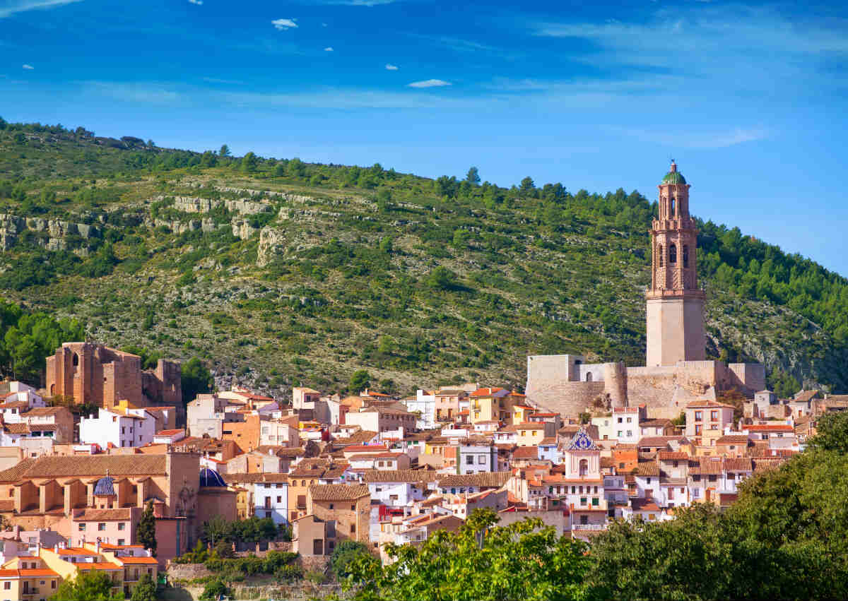 Jerica Spain village skyline