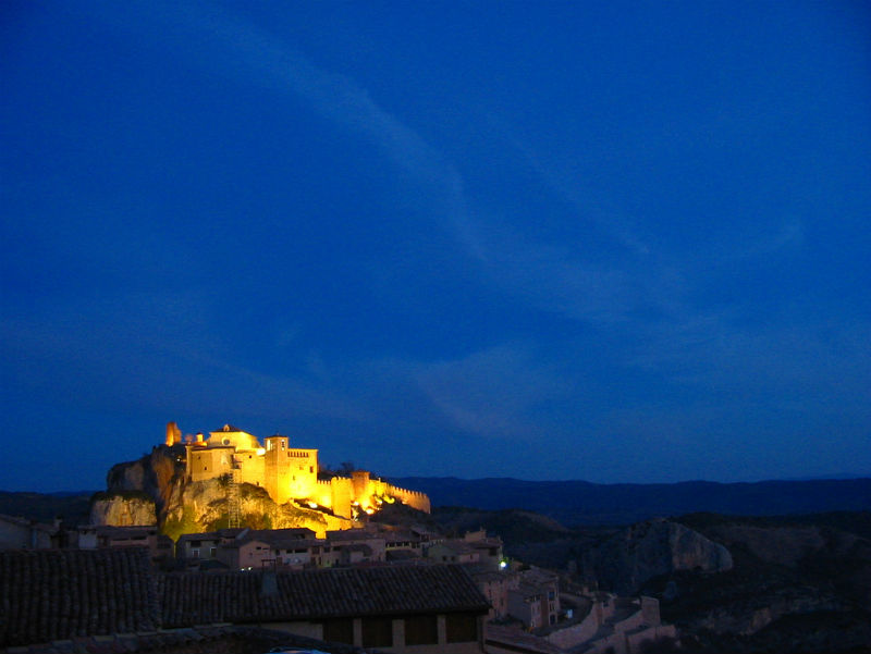 Alquezar Spain pretty towns