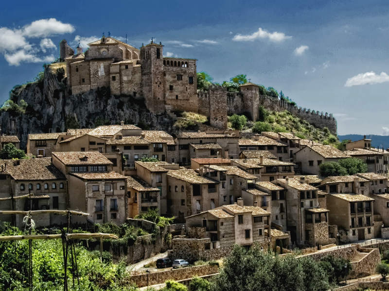 Alquezar beautiful places in Spain