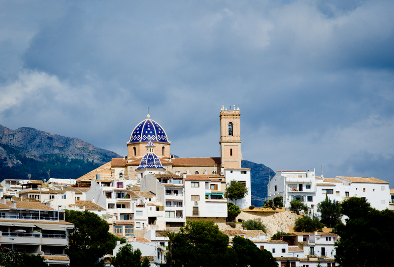 Altea Spain Church and views