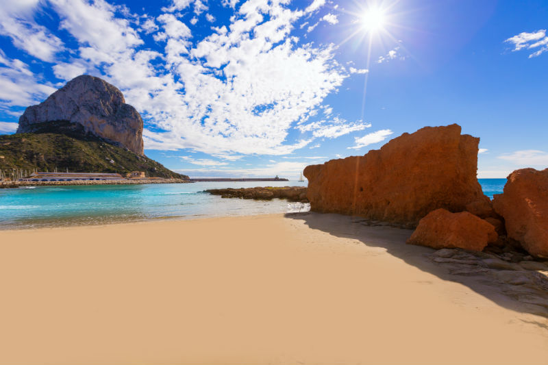 Calpe Cantal Roig Beach Costa Blanca
