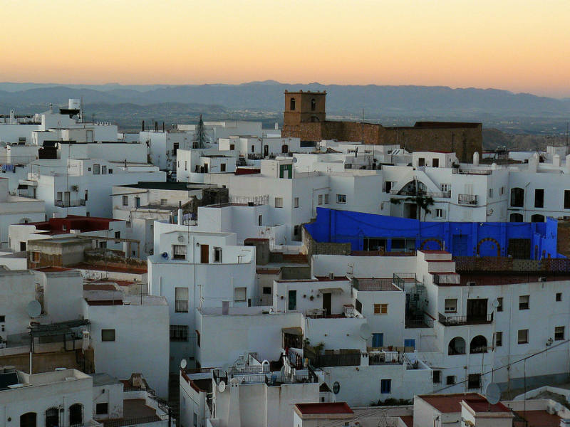 Mojacar Spain most beautiful towns