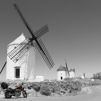 Don Quixote Route Windmills Consuegra