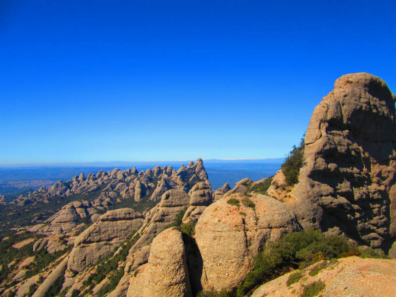 Montserrat Catalonia mountains adventure tourism