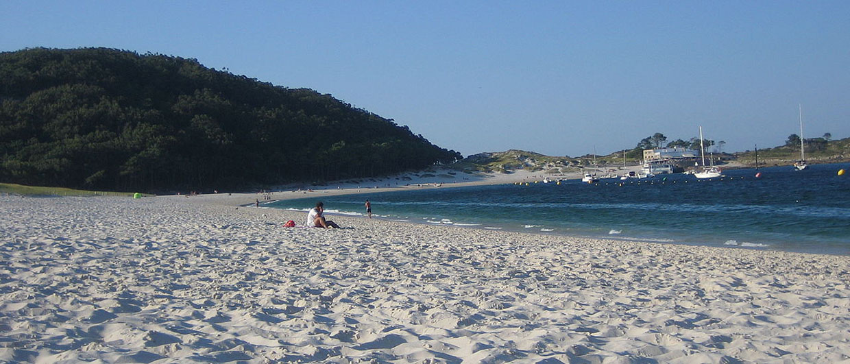 Galicia Cies Islands National Park Atlantic Islands
