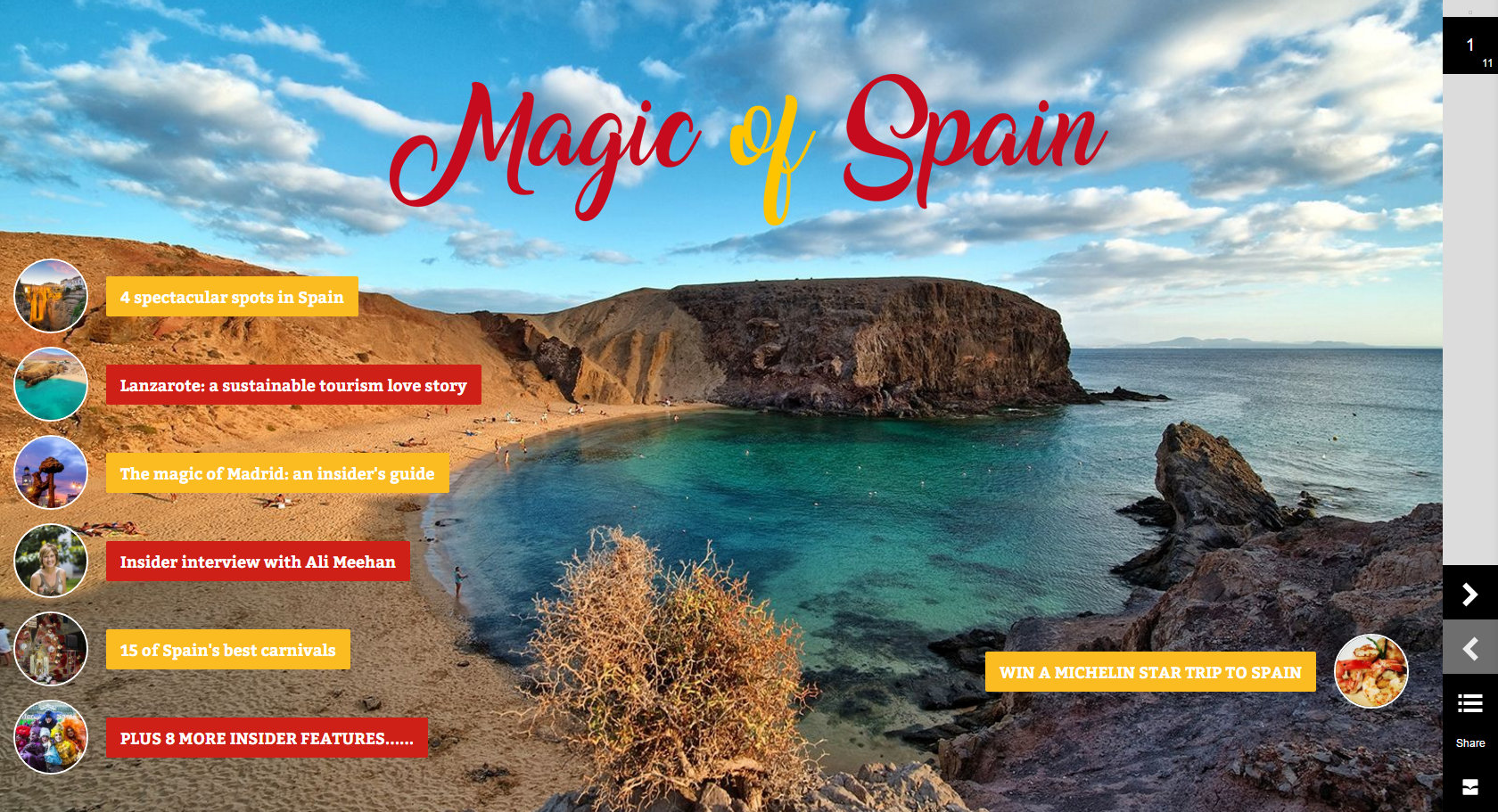 Magic of Spain magazine