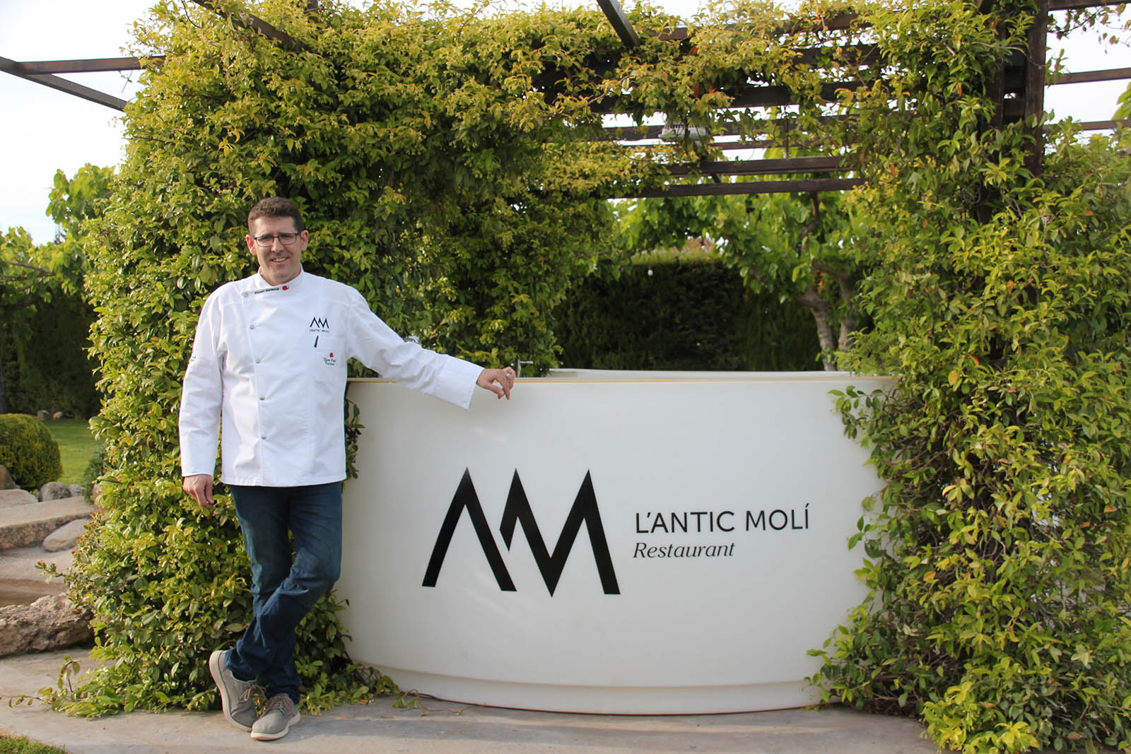 Antic Moli Michelin Star Triangle Vicent Guimera