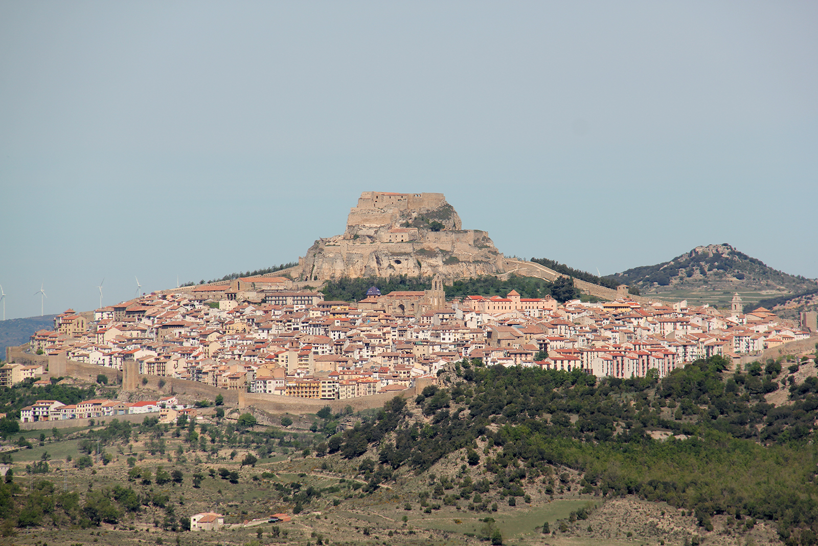 Morella Spain surrounding countryside